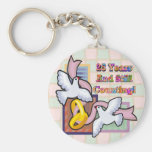 25th Wedding Anniversary Gifts Key Chain