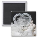 25th Wedding Anniversary Magnet