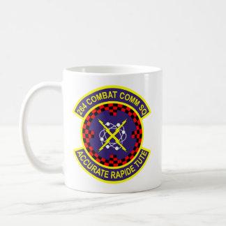264th Combat Communications Squadron Basic White Mug