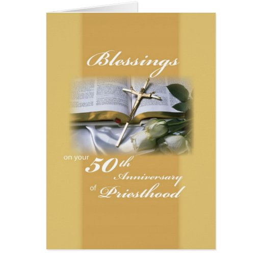 2679 Blessings 50th Anniversary Priesthood Card