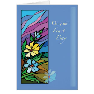 2685 Feast Day Blessings Card