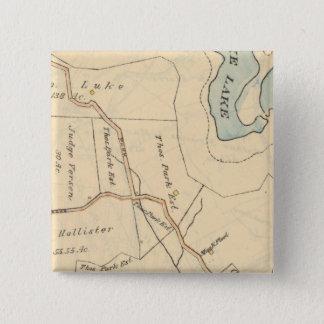 268 Harrison 15 Cm Square Badge