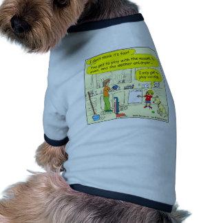268 Mom! It is not fair! Cartoon Doggie T Shirt