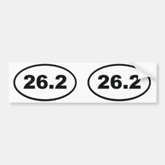 26.2 BUMPER STICKER