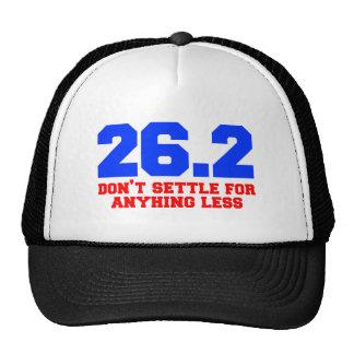 26 2-dont-settle-freshman png trucker hat