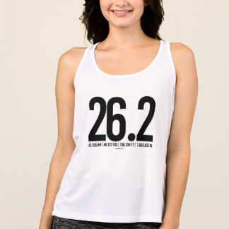 26-2 Mileage Conversion -  .png Tank Top