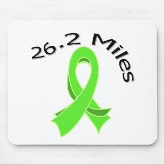 26.2 Miles Marathon Ribbon Non-Hodgkin's Lymphoma Mouse Pad