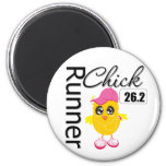 26.2 Miles Marathon Runner Chick