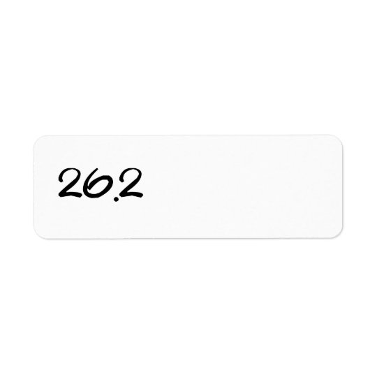 26.2 Return Address Labels