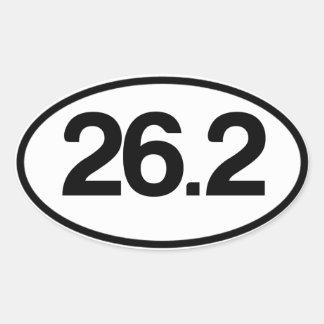 26.2 Sticker (Full Marathon Sticker)