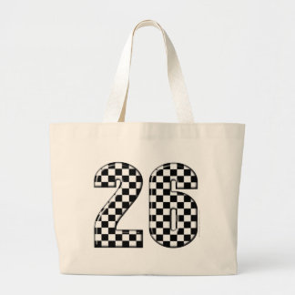 26 auto racing number bags