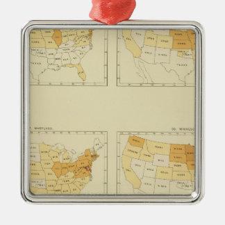 26 Interstate migration 1890 MEMS Christmas Ornament