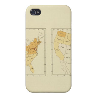 26 Interstate migration 1890 MEMS iPhone 4/4S Cases
