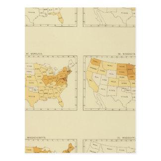 26 Interstate migration 1890 MEMS Postcard