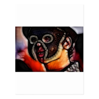 26 - Penumbra Mask Postcard