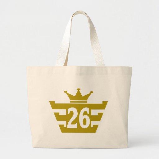 26-Royal.png Jumbo Tote Bag