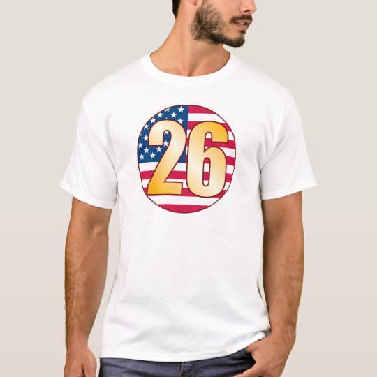 26 USA Gold T-Shirt