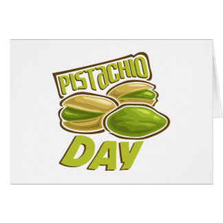 26th February - Pistachio Day Card