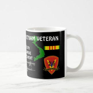 26th Marine Regiment Vietnam Veteran Coffee Mugs