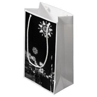 26th November 1960: City Christmas Lights Small Gift Bag
