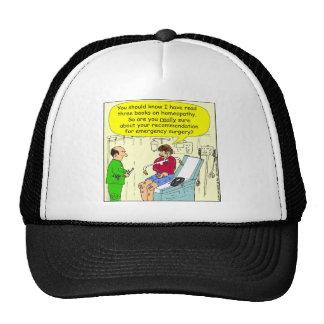 271 homeopathic surgery cartoon cap