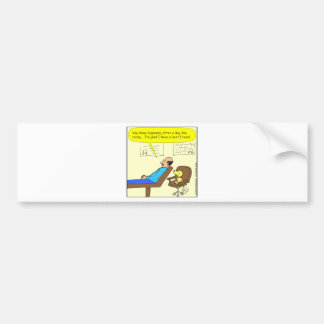 272 best friend cartoon in color bumper sticker