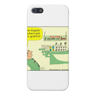 278 English Teacher Cartoon in color iPhone 5 Cover
