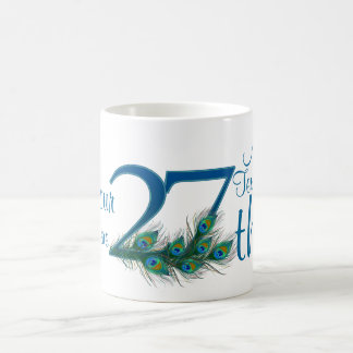 # 27 - 27th Wedding Anniversary or 27th Birthday Coffee Mug