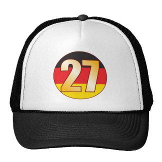 27 GERMANY Gold Cap