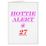27 Hottie Alert Cards