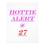 27 Hottie Alert Flyers