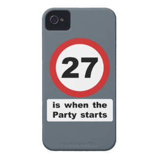 27 is when the Party Starts Case-Mate iPhone 4 Case