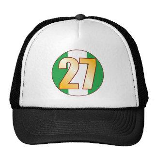 27 NIGERIA Gold Cap