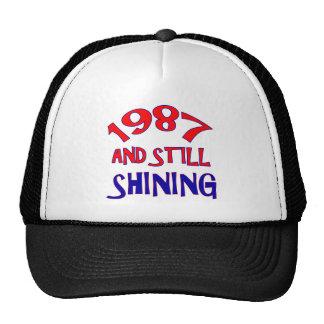 27 years Old birthday designs Cap