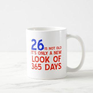 27 years Old birthday designs Basic White Mug