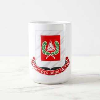 27th Engineer Battalion Basic White Mug