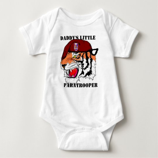 27TH Engineer Battalion Daddy's little paratrooper Baby
