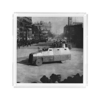 27th March 1917:  The armoured vehicle squadron Acrylic Tray