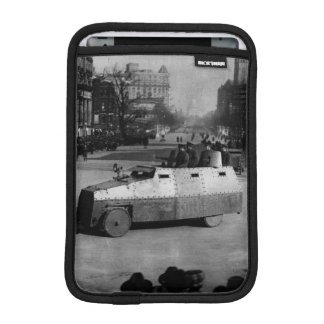 27th March 1917:  The armoured vehicle squadron iPad Mini Sleeves