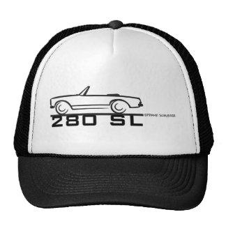 280SL BLK MESH HATS