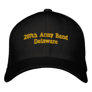 287th Army Band Delaware Embroidered Baseball Cap