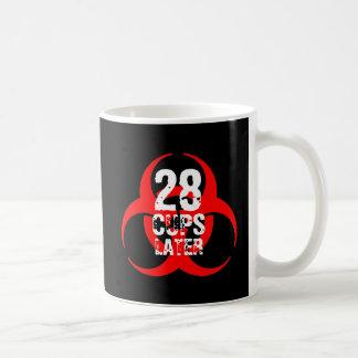 28 Cups Later Coffee Mug