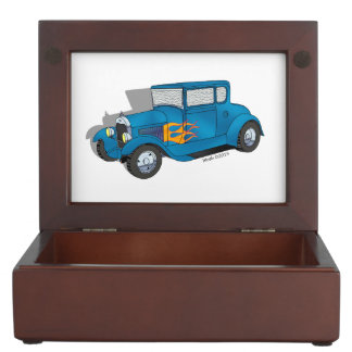 28 Ford 5 Window Model A Coupe Memory Box