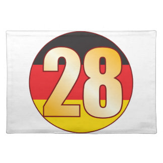28 GERMANY Gold Placemat