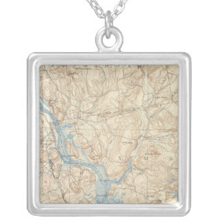 28 Saybrook sheet Silver Plated Necklace