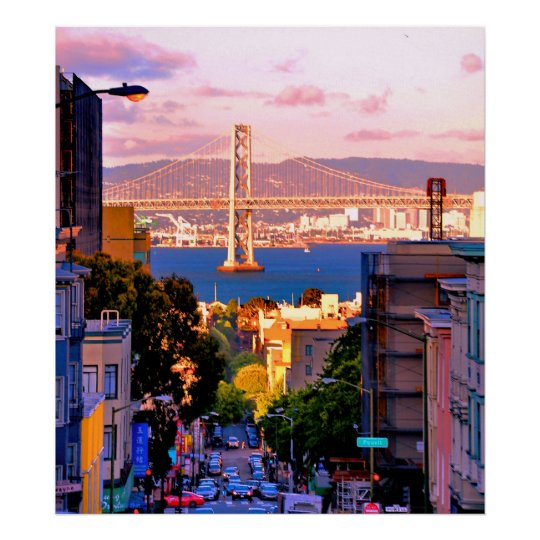 28 X 31 PREMIUM CANVAS SAN FRANCISCO CITY