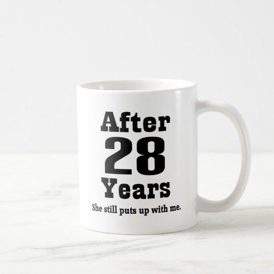 28th Anniversary (Funny) Coffee Mug