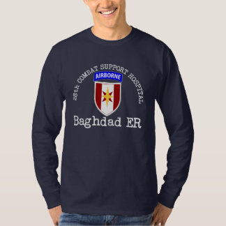 28th Combat Support Hospital - Baghdad ER Tshirts