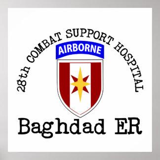 28th CSH Baghdad ER Print