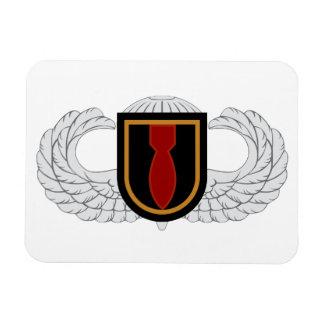 28th EOD Airborne Rectangular Magnet